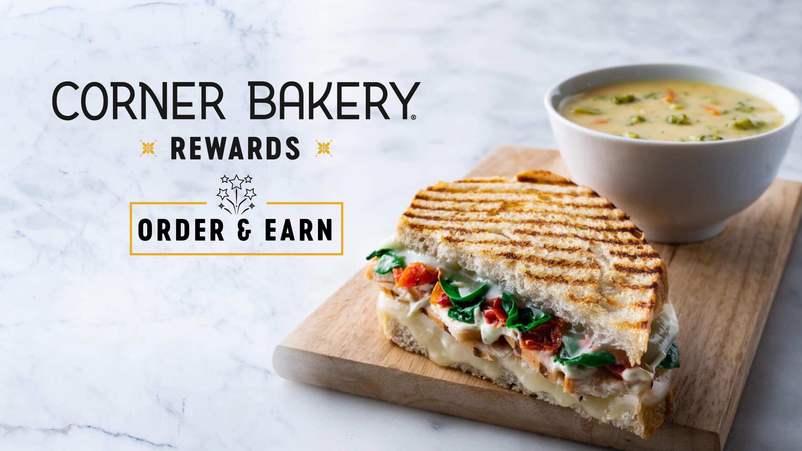 Corner Bakery Rewards