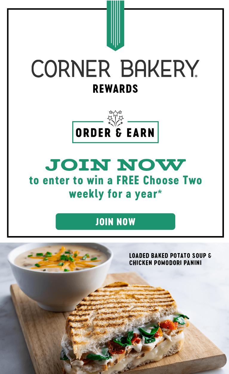 Corner Bakery Rewards