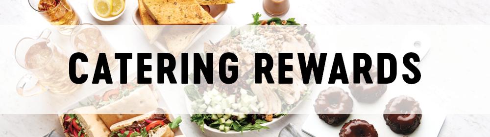 Catering Rewards Landing Page